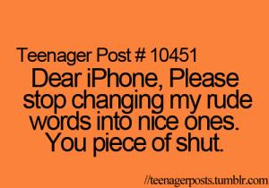 phone piece of shut