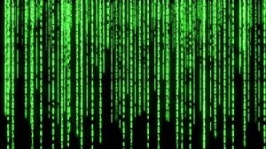You can almost see the Matrix, can't you? Source footage.shutterstock.com