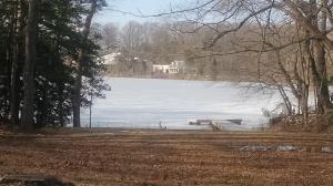 Pond Still Frozen