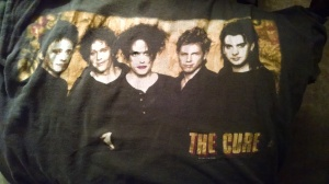 My t-shirt from when I saw The Cure in concert in 1996